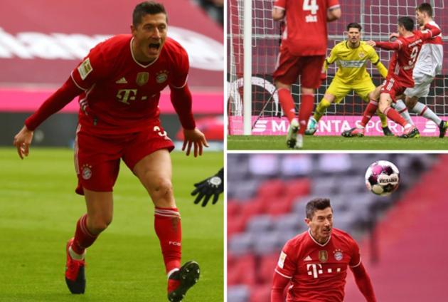Lewandowski eyes Muller record with treble - Bóng Đá