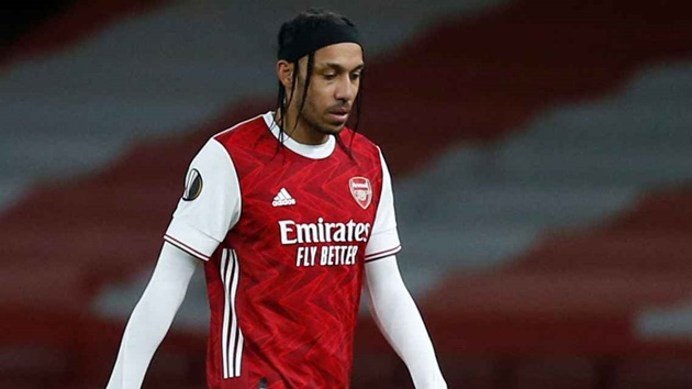 Arsenal's Arteta: Aubameyang remains key player despite drop in form - Bóng Đá