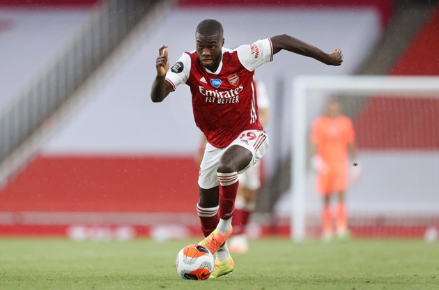 Đội hình Arsenal đấu Fulham - Bóng Đá