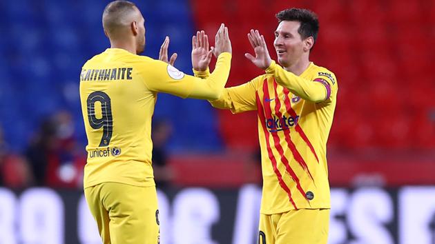 Messi breaks Copa del Rey final scoring record with brace vs Athletic - Bóng Đá