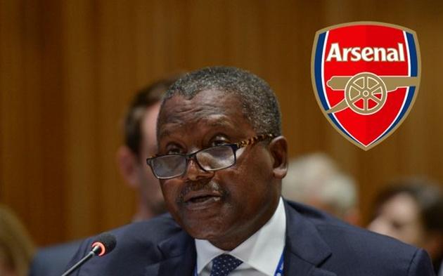 When Aliko Dangote can start £2billion Arsenal takeover talks as Stan Kroenke is told to sell - Bóng Đá