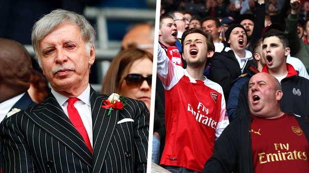 Stan Kroenke has already delivered his verdict on selling Arsenal as fans call for change - Bóng Đá