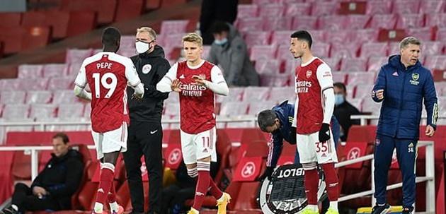 Tình huống Arsenal bị từ chối hưởng 11m - Bóng Đá