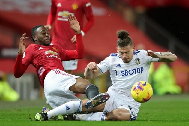 Man United fans left impressed with top Aaron Wan-Bissaka display vs Leeds - Bóng Đá