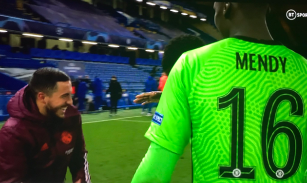 Real Madrid fans slam Eden Hazard for laughing with Chelsea stars after Champions League semi-final defeat - Bóng Đá