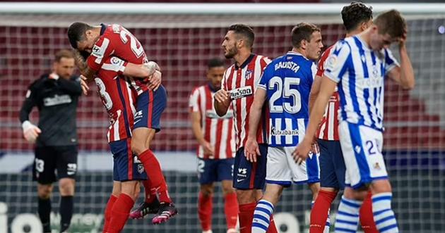 bài luận sau trận Atletico vs Sociedad - Bóng Đá