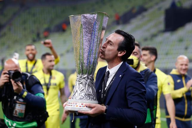 Unai Emery credits Arsenal after Villarreal beat Manchester United in Europa League final - Bóng Đá
