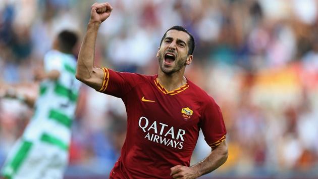 CHÍNH THỨC: Mkhitaryan gia hạn với AS Roma  - Bóng Đá