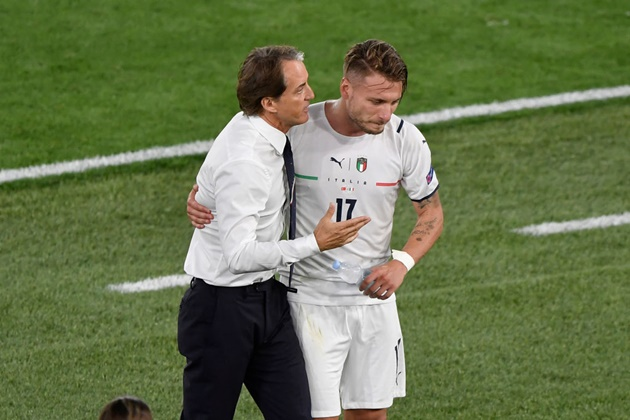 Chelsea fans amazed by performance of Italian forward at Euro 2020 (Immobile) - Bóng Đá