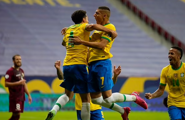 tin reviews trận Brazil vs Venezuela - Bóng Đá