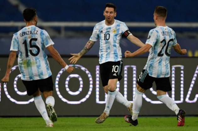 tin reviews trận Argentina vs Chile - Bóng Đá