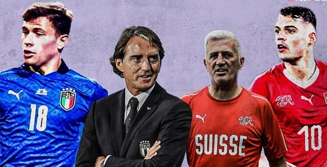 LIVE Ý vs Thụy Sĩ - Bóng Đá