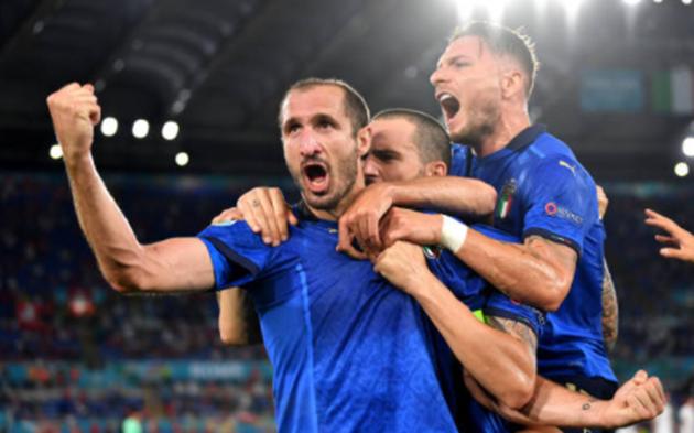 TRỰC TIẾP Ý 0-0 Thụy Sĩ: Ý bị tước bàn thắng (H1) - Bóng Đá