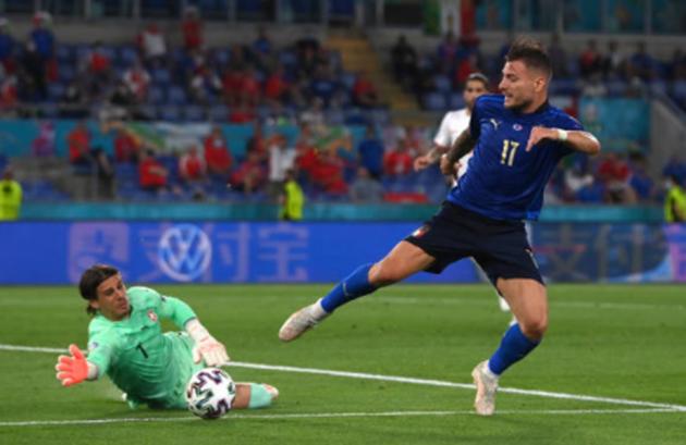 TRỰC TIẾP Ý 1-0 Thụy Sĩ: Tấn công quá hay (H1) - Bóng Đá
