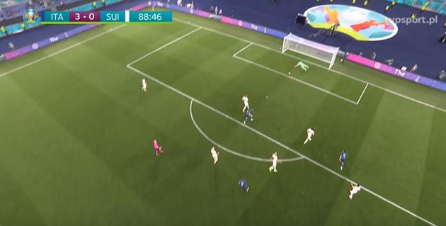 Ảnh tình huống đáng chú ý trận Ý vs Thụy Sĩ - Bóng Đá