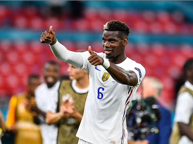 Paul Pogba is the 'player of the tournament' so far after another superb display for France against Portugal, says Andros Townsend. - Bóng Đá