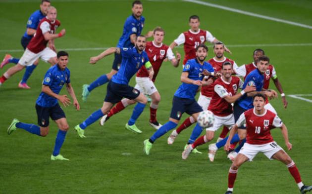 TRỰC TIẾP Ý 0-0 Áo: Hai đội bước vào hiệp phụ (HIỆP PHỤ 1) - Bóng Đá