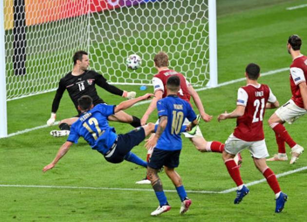 TRỰC TIẾP Ý 2-0 Áo: Pessina ghi bàn! (HIỆP PHỤ 1) - Bóng Đá