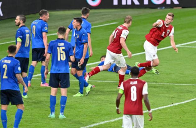 TRỰC TIẾP Ý 2-1 Áo: Kalajdzic ghi bàn (HIỆP PHỤ 2) - Bóng Đá