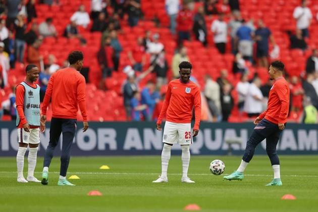 Why Bukayo Saka starts ahead of Foden, Grealish and Rashford for England vs Germany - Bóng Đá