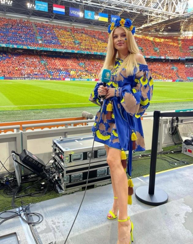 Meet Ukraine Wags cheering on their stars vs England - Bóng Đá