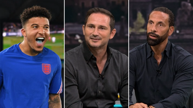 Frank Lampard and Rio Ferdinand rave about 'special' Manchester United signing Jadon Sancho after England display - Bóng Đá