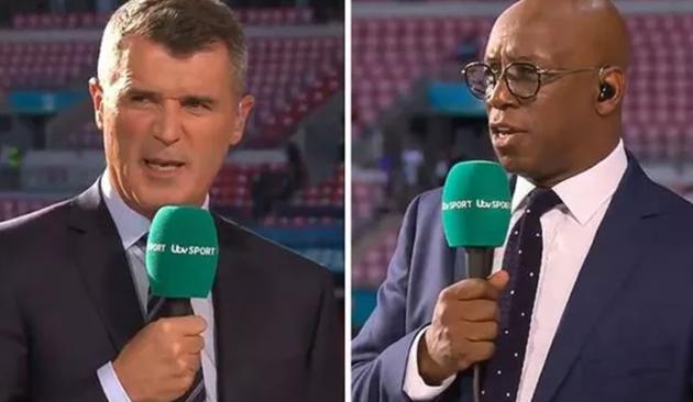 Roy Keane and Ian Wright disagree on England vs Denmark man of the match - Bóng Đá