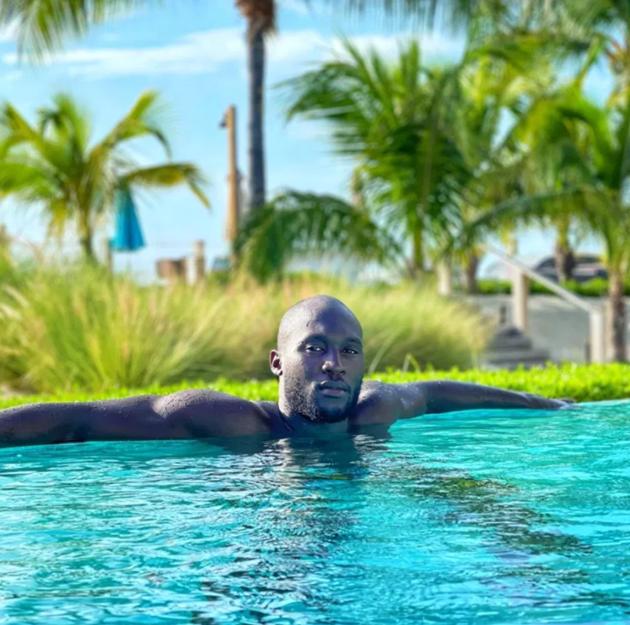 Romelu Lukaku works out in Florida sun - Bóng Đá