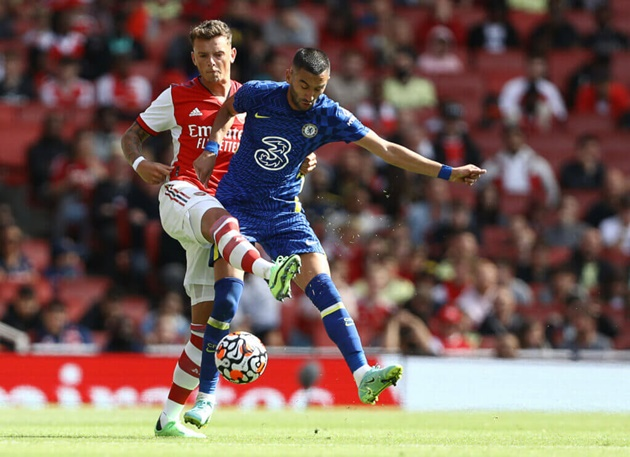 Arsenal fans impressed with Ben White's debut performance vs Chelsea - Bóng Đá