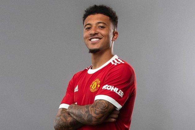 Jadon Sancho names two Man Utd stars he can't wait to play with - 'It's going to be crazy' - Bóng Đá