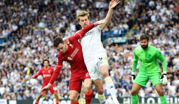 TRỰC TIẾP Leeds United 0-1 Liverpool: The Kop áp đảo (H1) - Bóng Đá