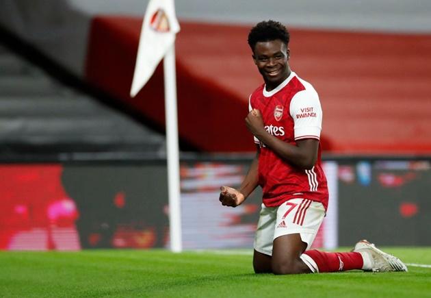 Arsenal fans react as Fabrizio Romano discusses future of Bukayo Saka - Bóng Đá