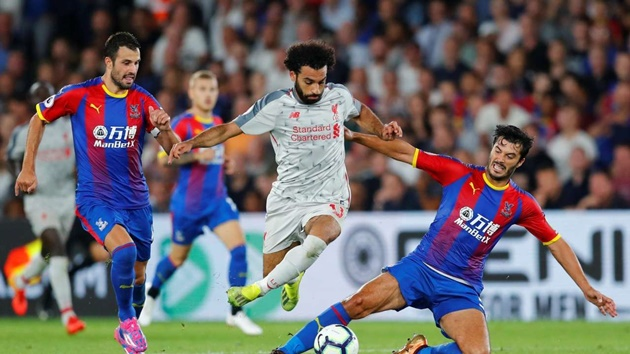 Liverpool vs Palace - Bóng Đá