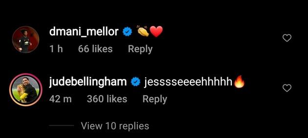 Jude Bellingham congratulates Jesse Lingard on Manchester United winner - Bóng Đá
