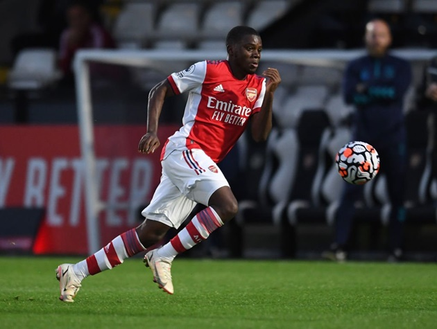 Mikel Arteta calls 18-year-old attacking ace up to Arsenal first-team training (Nathan Butler-Oyedeji) - Bóng Đá