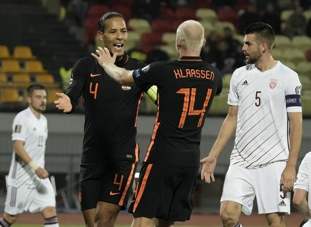 """Van Dijk: """"Chúng tôi biết trước Latvia là một đối thủ khó chịu"""""""