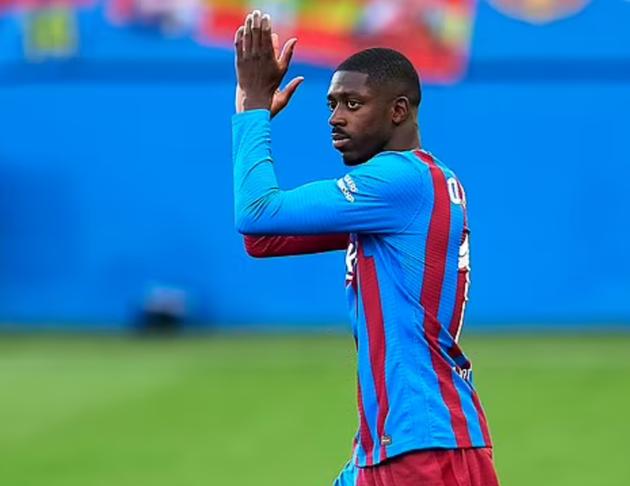 Liverpool 'open negotiations to sign Barcelona forward Ousmane Dembele on a free next summer - Bóng Đá