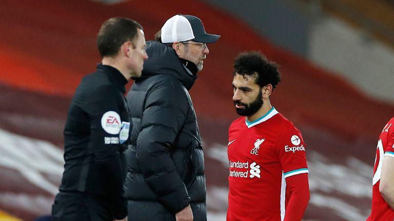 Klopp nổi giận, từ chối bình luận về phản ứng của Salah - Bóng Đá