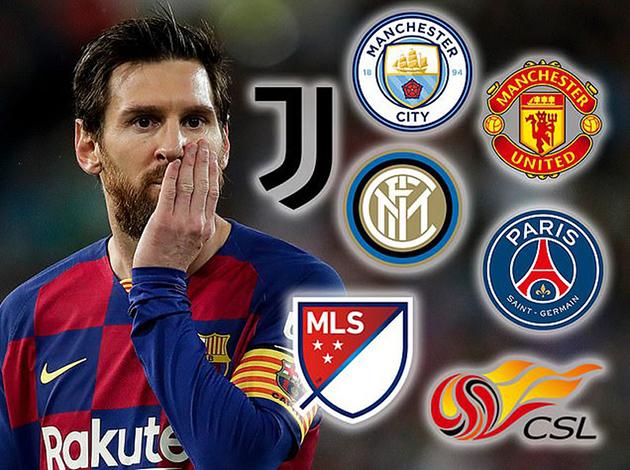 Rivaldo tips Lionel Messi to reject Manchester City and Paris Saint-Germain - Bóng Đá