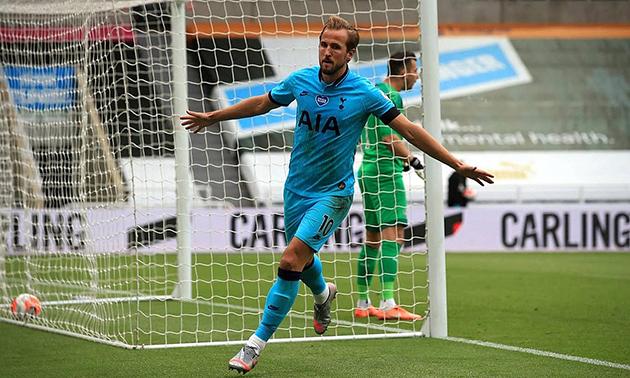 Tottenham star Kane sets new Premier League record with away brace against Newcastle - Bóng Đá