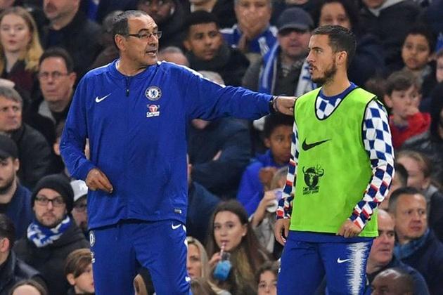 Hazard giải thích lý do Maurizio Sarri là huấn luyện viên phù hợp nhất với Chelsea - Bóng Đá