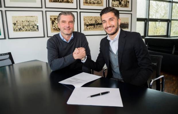 Nuri Sahin cười hết ga ký hợp đồng mới cùng Dortmund - Bóng Đá
