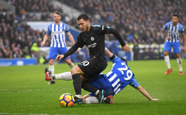 TRỰC TIẾP Brighton 0-3 Chelsea: Hazard chấm dứt hy vọng của chủ nhà (Hiệp 2) - Bóng Đá