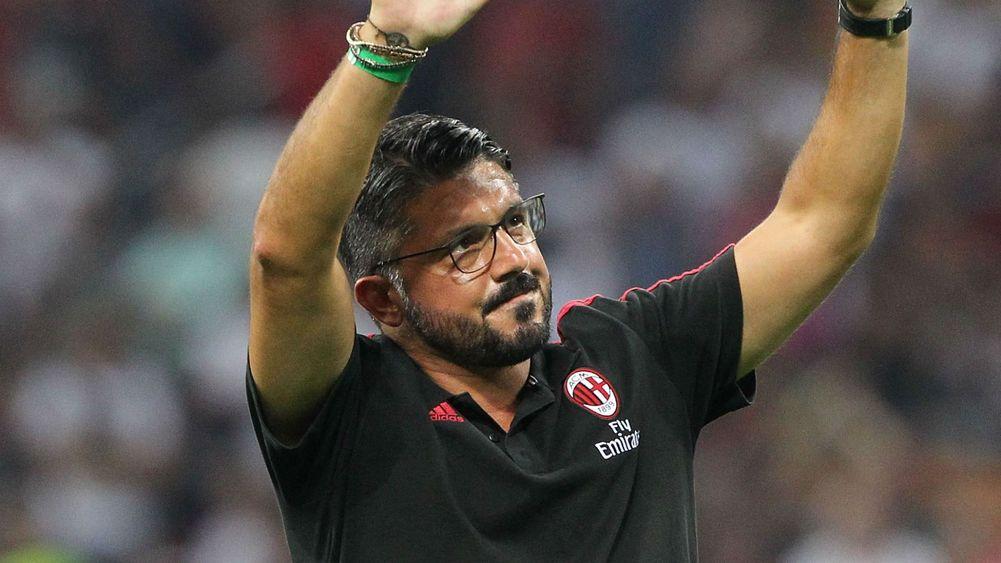 Milan kéo dài chuỗi bất bại, Gattuso sắp nhận quà lớn - Bóng Đá