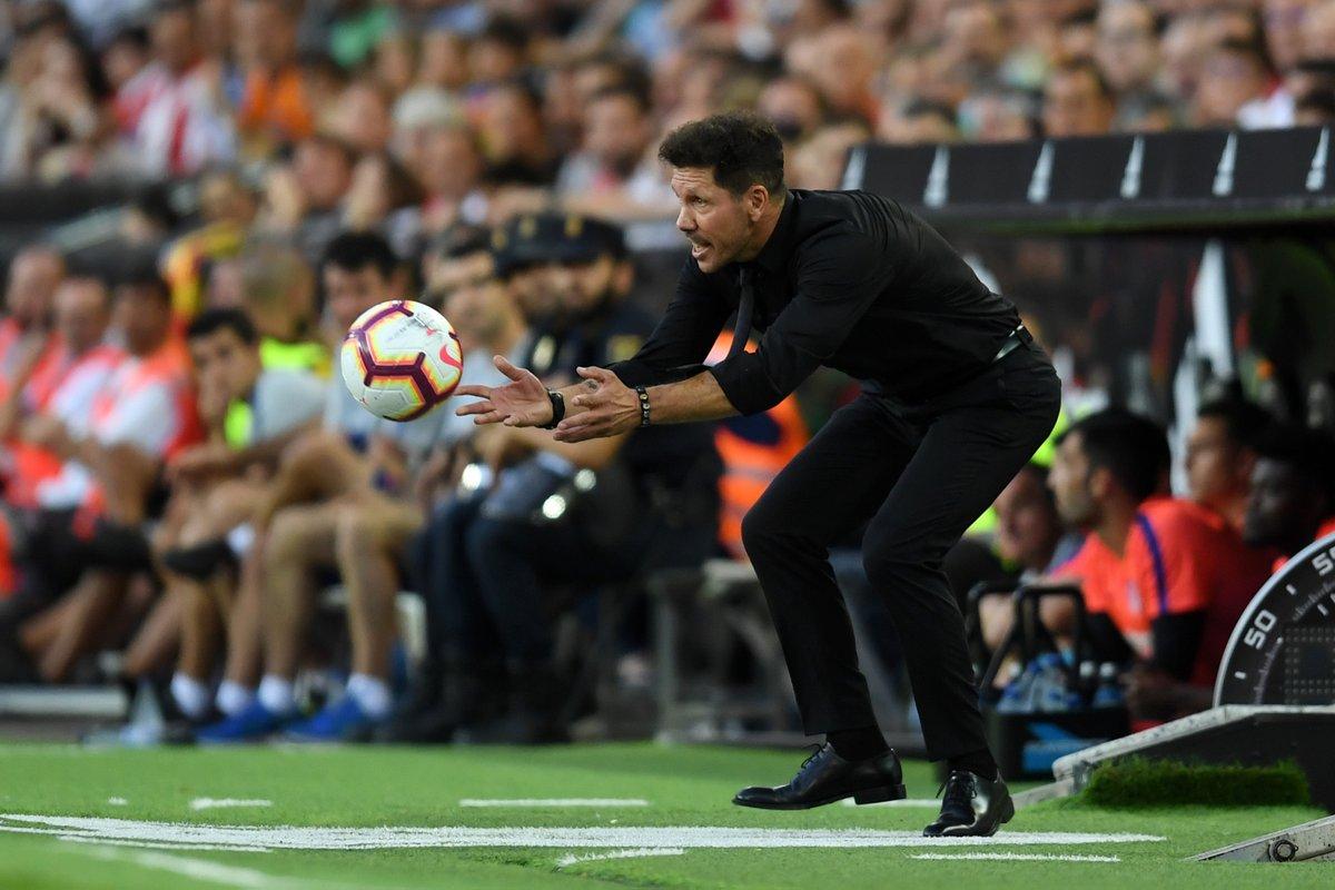 Atletico không thắng, nhưng kỷ lục của Simeone vẫn còn - Bóng Đá