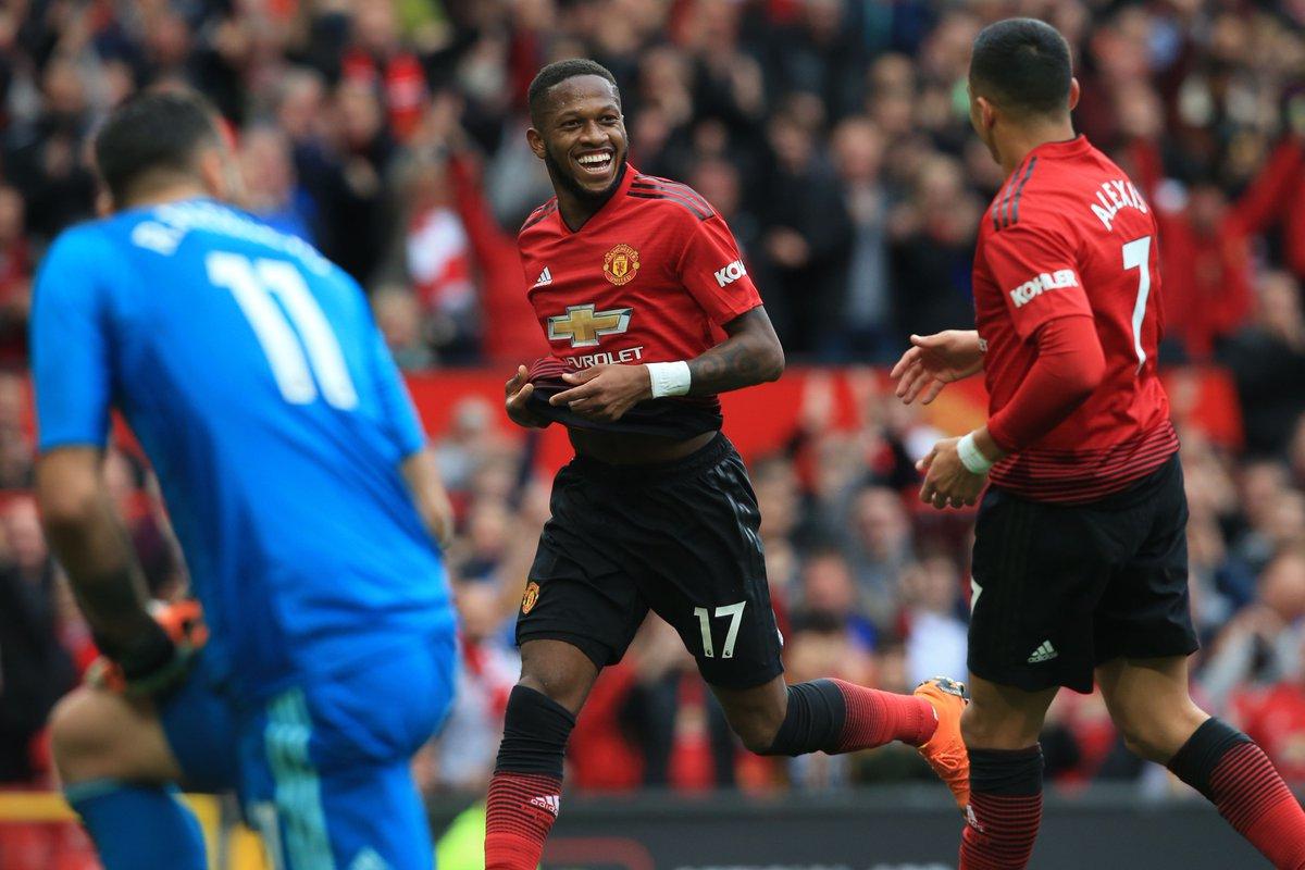 Có bàn thắng ra mắt, Fred đi vào lịch sử Man Utd - Bóng Đá