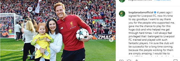 Liverpool have released Adam Bogdan after 4 years of service - Bóng Đá