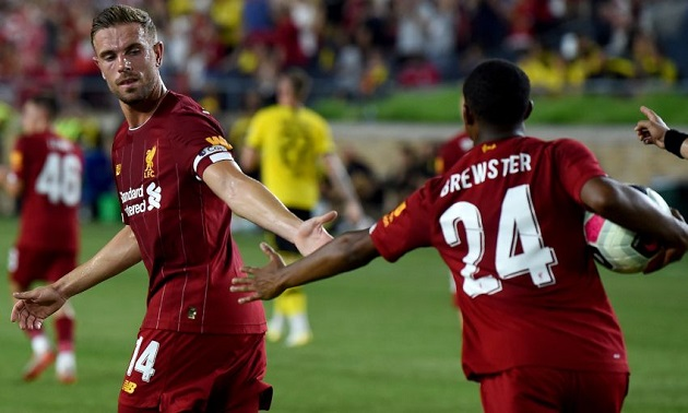 Rhian Brewster: Hendo asked me if I wanted the penalty - Bóng Đá