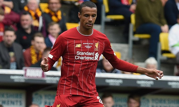 Football Insider: Klopp urges Liverpool executives to tie Matip down with new contract - Bóng Đá