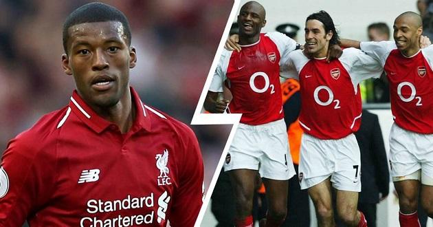 Wijnaldum: Liverpool can eclipse Arsenal Invincibles - Bóng Đá